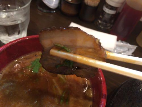 つけ麺 雀 辛つけ麺 焼豚