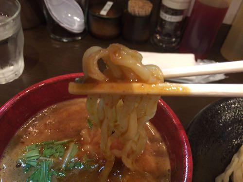 つけ麺 雀 麺リフト!