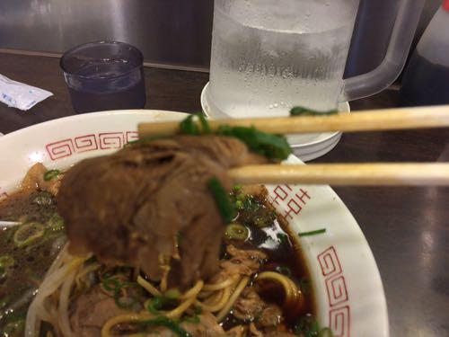 新福菜館 焼豚