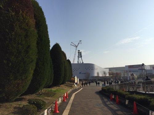 『REDHORSE OSAKA WHEEL』の工事状況
