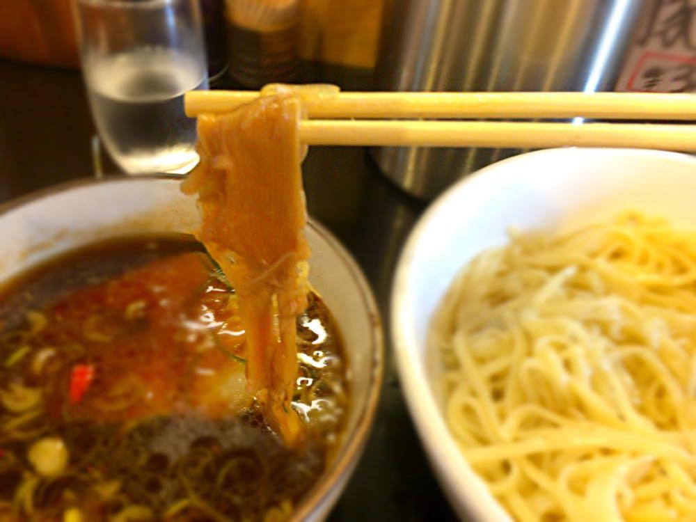 鶴麺 黒つけそば
