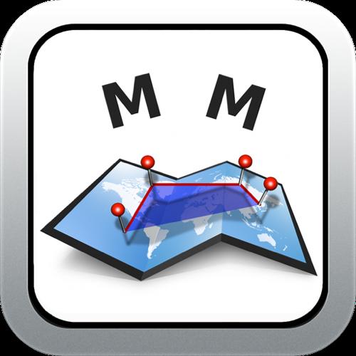 用地マン必須!地図上で面積を計測するアプリ【地図計測】!!