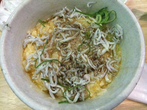 しらす玉子飯 福島壱麺