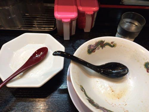 『肉太郎』肉醤油らーめんセット 完食