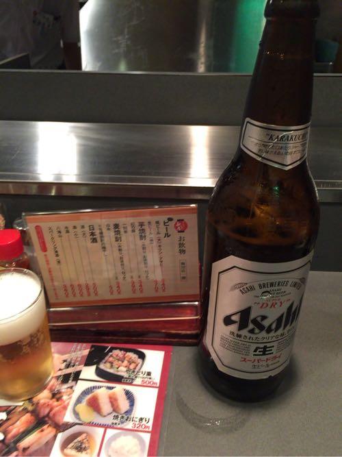 秋吉 梅田店 ビール大瓶