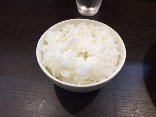 らーめん颯人 白御飯 (小)