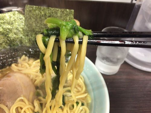 魂心家 醤油らーめん 大 麺