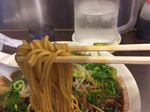 新福菜館 麺