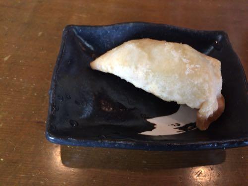 バリバリジョニー 米原店 サービスの揚げ餃子