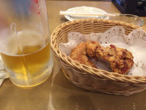 ハウスミュンヘン 阿波尾鶏の骨付き唐揚げ