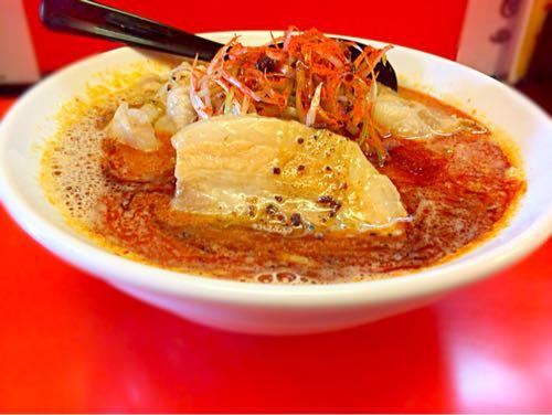 ひるドラ本店 辛ガチ味噌肉ソバ