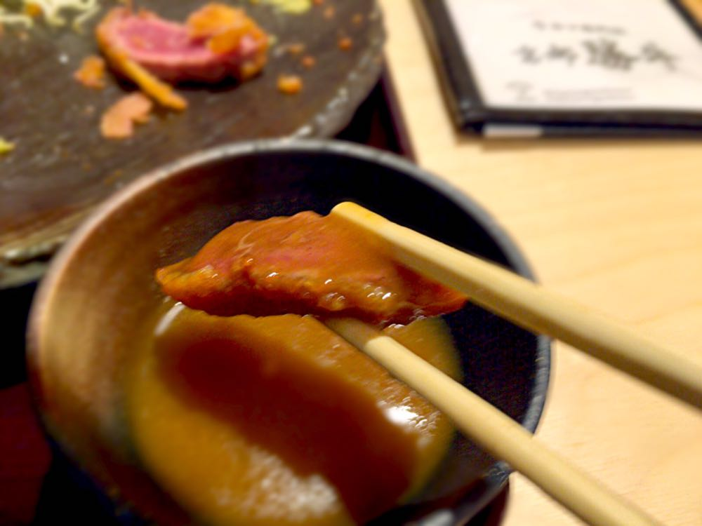 京都 勝牛『牛ロースカツ膳』