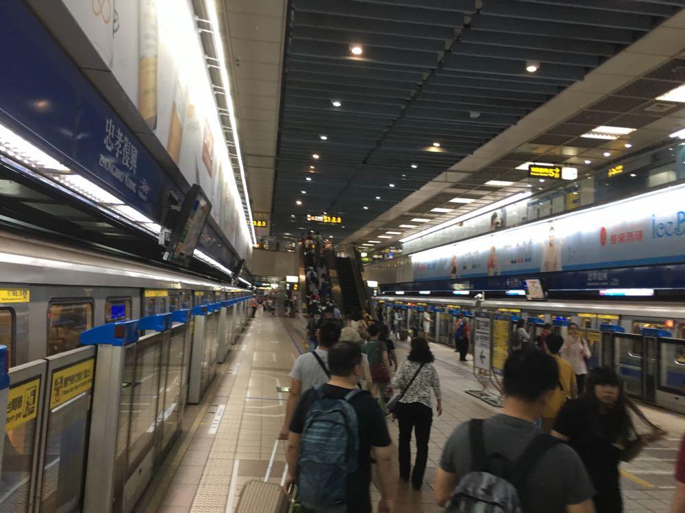 台湾MRT西門駅