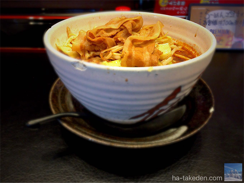 傾奇御麺 漢の赤醤油ラーメン
