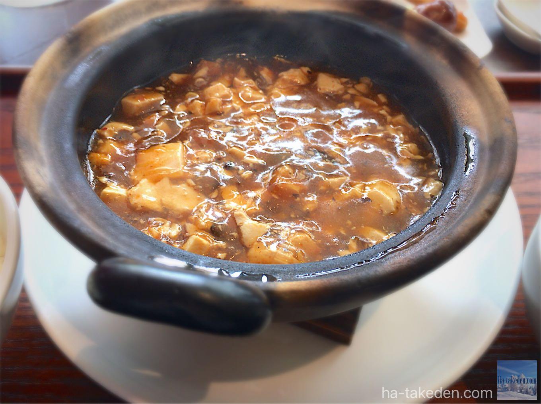 ダオフー肥後橋店 特製麻婆豆腐定食