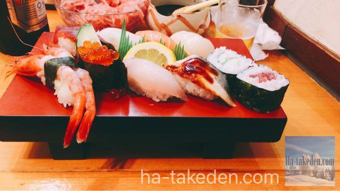 浪花の大衆寿司!天満『すし政 中店』で江戸前寿司を喰らう!